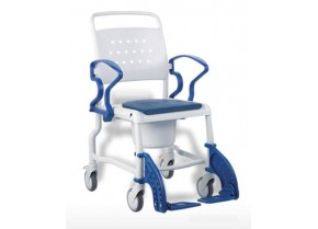 WC-Shower Wheelchair with Small size Wheels Bonn Rebotec