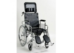 WC Wheelchair with foldable Backrest and Footrests Koinis 6062