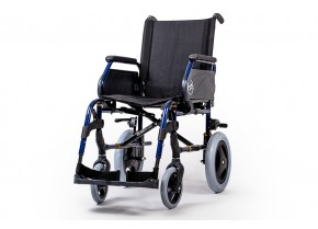 Wheelchair with Medium Size Wheels Sunrise Medical Breezy Premium-12