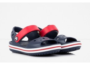 Crocs Crocband Sandal Kids 12856-485 Navy/Red