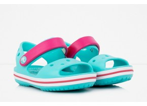 Crocs Crocband Sandal Kids 12856-4FV Pool/Candy Pink