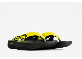 Oofos OOriginal Sport 1001 Yellow Anatomic Recovery Sandal