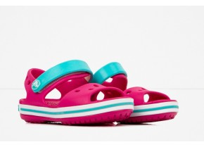 Crocs Crocband Sandal Kids 12856-6LH Candy Pink/Pool