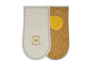Leather orthotic insole heel cushion Mazbit