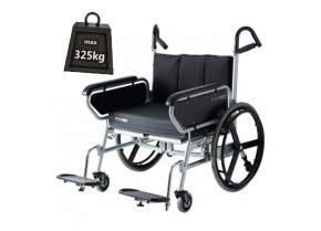 Wheelchair for up to 325kg Weighted Users Koinis Maxx