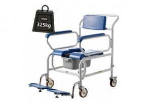 Bariatric Shower Wheelchair Koinis Comode