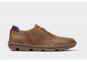 On Foot Men's Anatomic Laced Shoes Blucher 7000 brown