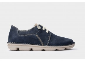 On Foot Men's Anatomic Laced Shoes 7021 blue