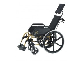 Special type wheelchair with foldable back Sunrise Breezy Premium R