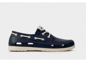 Crocs Classic Boat Shoe M 206338-46K Navy/Stucco Men's Anatomic Shoes