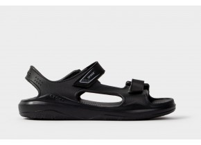 Crocs Swiftwater™ Expedition Sandal K 206267-0DD Black/Slate Grey Παιδικό Ανατομικό Σανδάλι