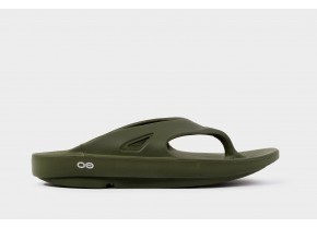 Oofos OOriginal Sport 1000 Forest Green Anatomic Recovery Sandal