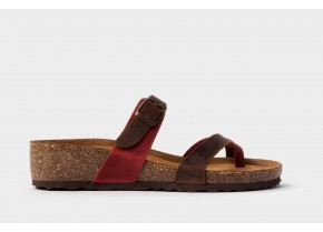 Comfy Women's Anatomic Sandals 3560 red