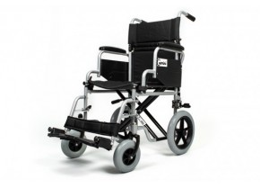 Narrow Wheelchair with Medium Size Wheels Mobiak Gemini 0811307