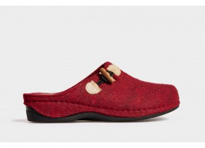 Comfy Women's Anatomic Slippers 20501 red