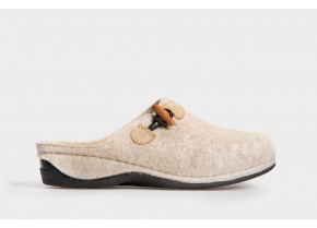 Comfy Women's Anatomic Slippers 20501 beige