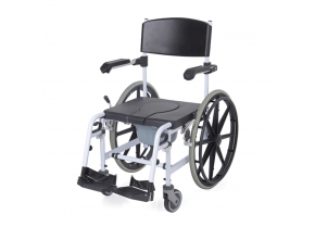 WC-Shower Wheelchair with Large Wheels RS847