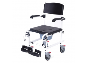 WC-Shower Wheelchair with Small Size Wheels Moretti RS846