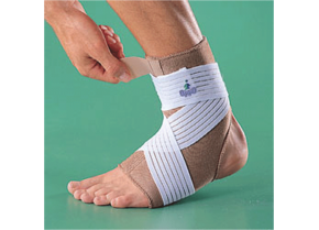 Neoprene Ankle Support With Straps Oppo 1003